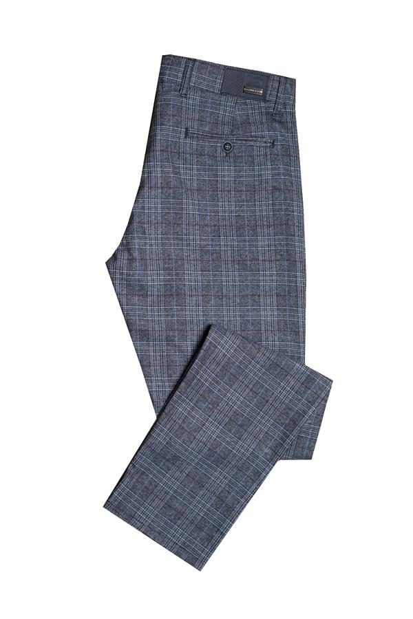 Spodnie męskie w kratę - Repbalo